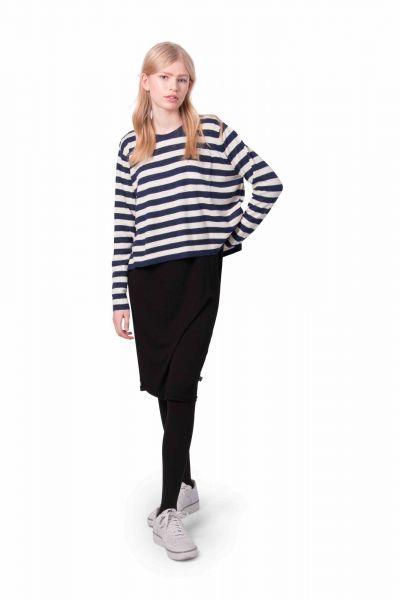 Berta Sweater Dark Slate/Chalk