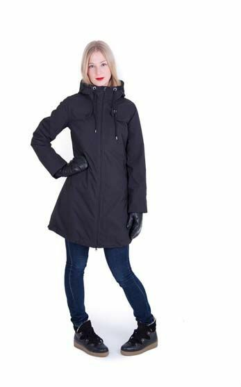 Blaabaer Winter Jacket Black (ALL BLACK)