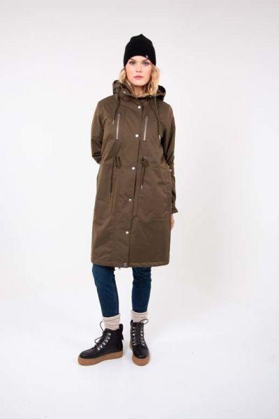 Lisbeth Winter Coat Army