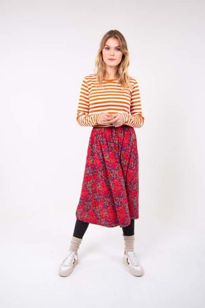 Chichi Skirt Rust Red Berrygood