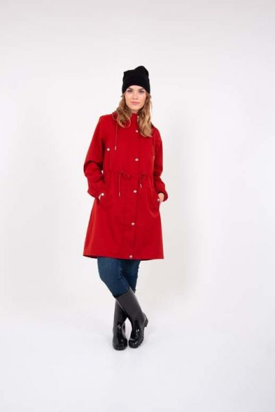 Aalborg raincoat Rust Red