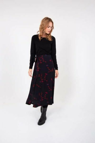 Jasmin Skirt Black Picabella