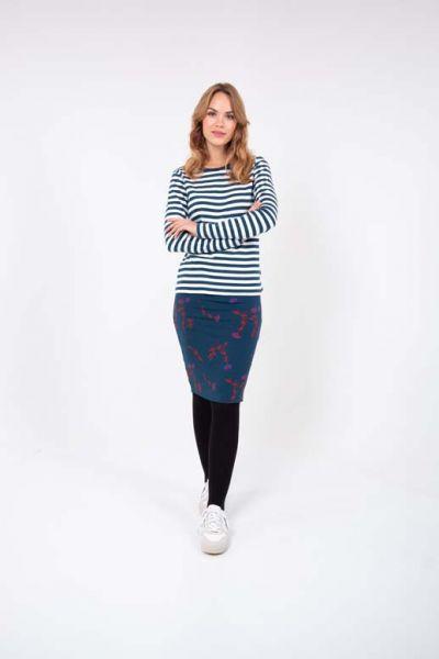 Betsy Skirt Deep Ocean Picabella