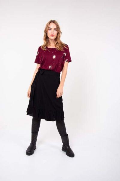 Drama skirt Black