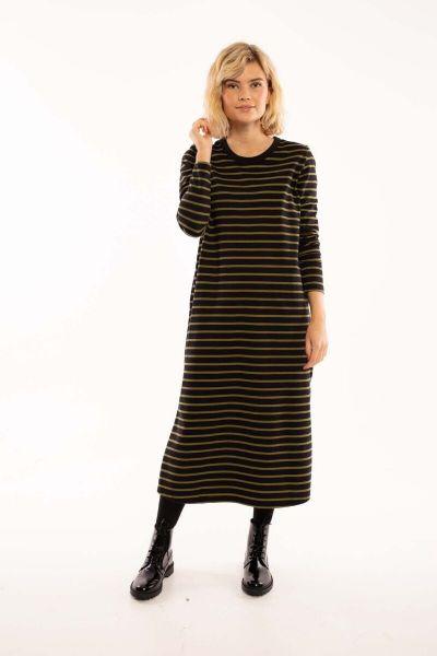 ORGANIC - Lea Dress Black/olive