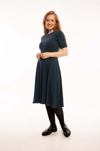 ORGANIC - Charlotte Dress Dusty navy