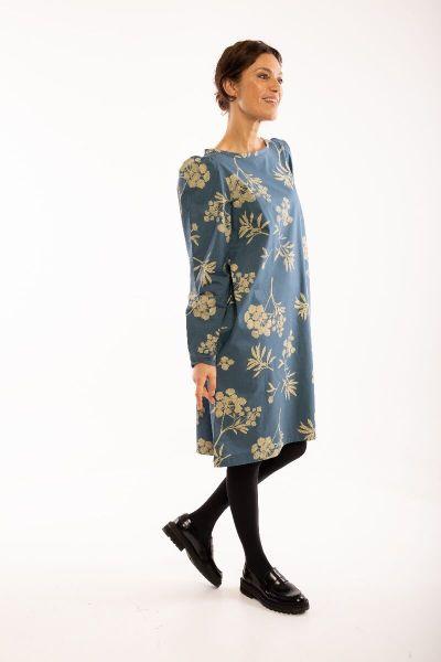 ORGANIC - Lund Dress Stone blue HEMLOCK