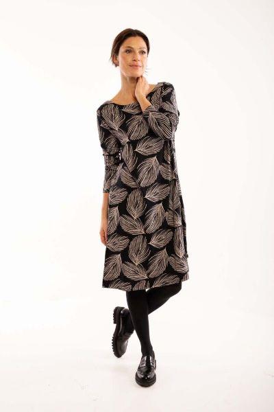 Nassau Dress Black/chalk PALMA