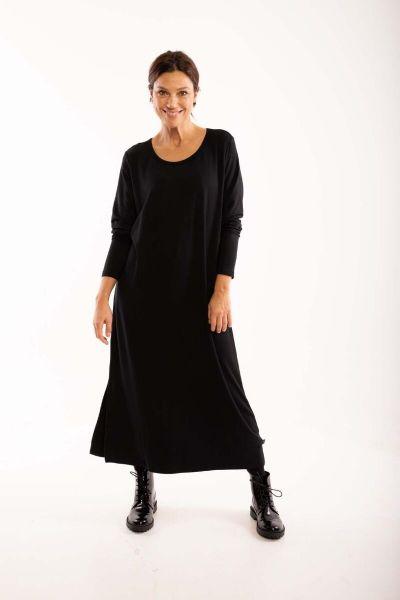 Casilda LS Dress Black