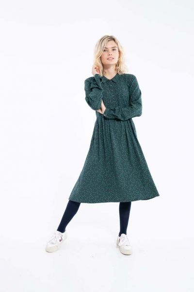 ORGANIC - Finest Dress Dark Navy FLEURIE