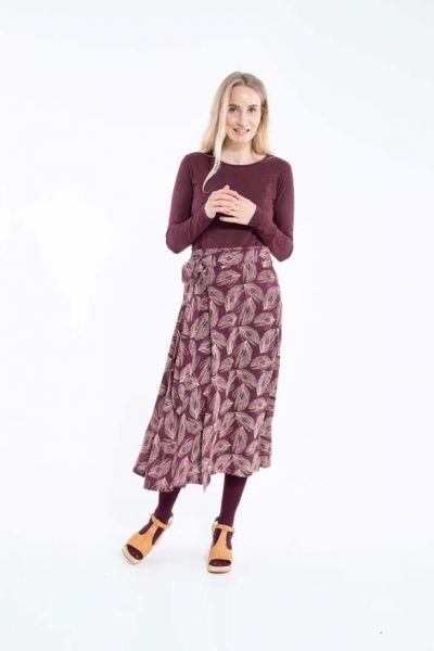 Jasmin Skirt Dark BDX/LT Beige PALMA