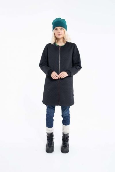 Matilde Thermo Coat Black