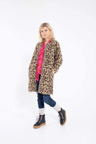 Raw Fleece Leopard