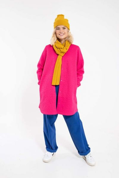 Maude Thermo Coat Hot Pink