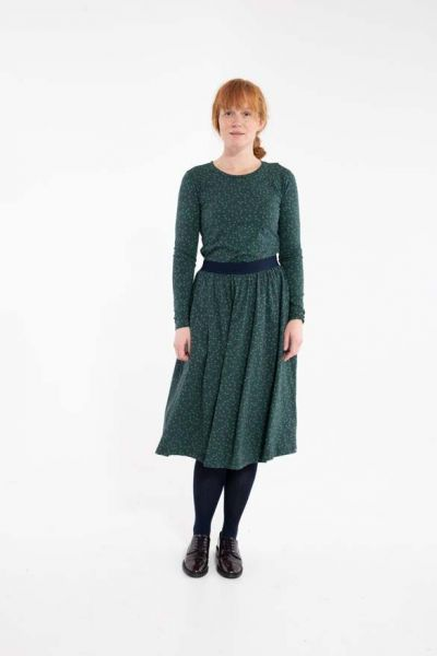 ORGANIC - Chichi skirt Dark Navy FLEURIE