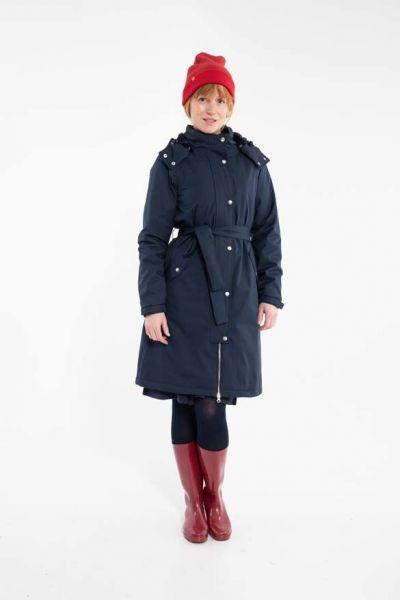 Bornholm Winter Rain Dk Navy
