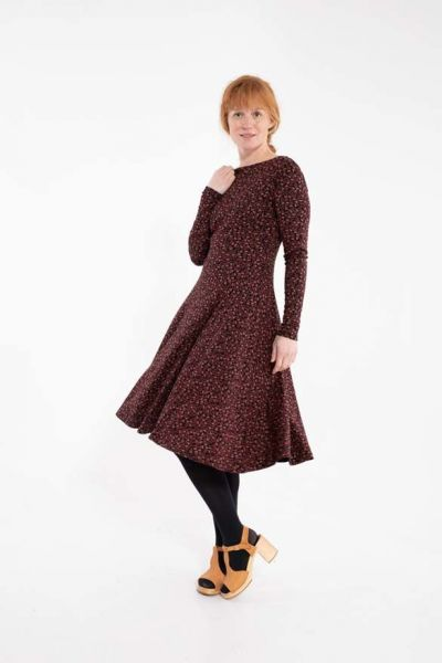 Sigrid Dress Black Fleurie