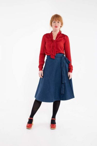 Helga Shirt Red