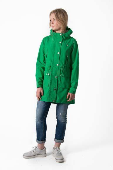Gritt Rain Parka Great Green