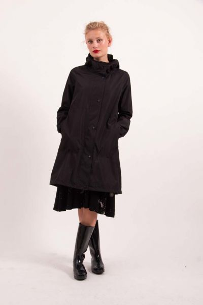 Edith Rainjacket Black