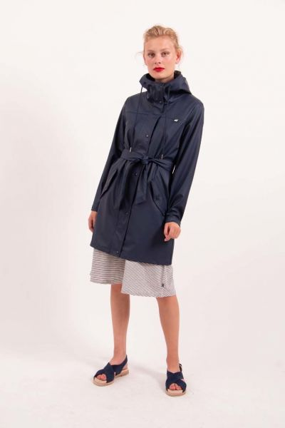 Pernille Raincoat Navy