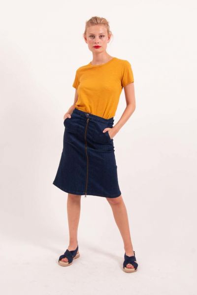 Victoria Skirt Denim