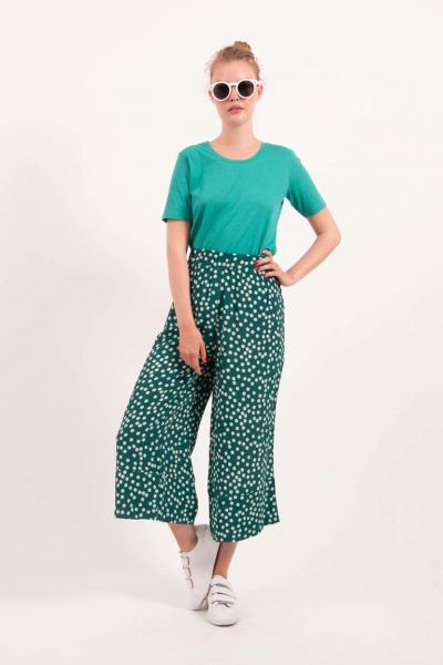 Dolce pants Deep Abyss/Offwhite Fun Dots