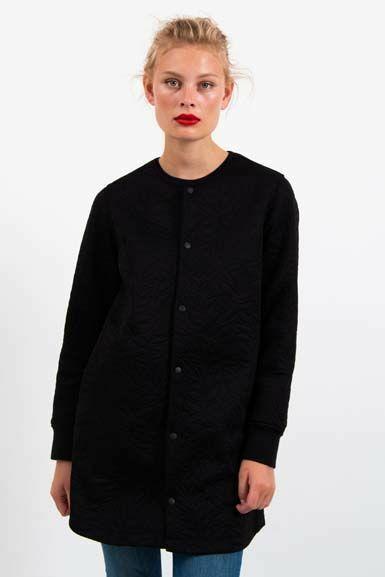 Maude Thermo Coat Black