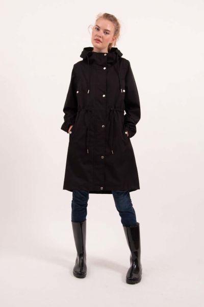 Aalborg raincoat Black