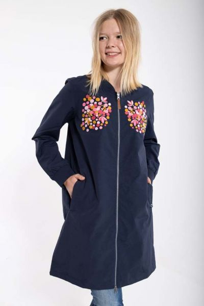 Gudrun Jacket Navy BERRY EMBY