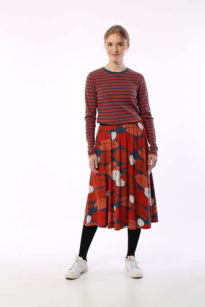 Chichi Skirt Brick AAKANDER