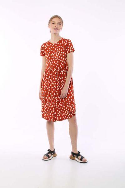 Nielsen Dress Sienna/Chalk BIG FUNNY DOTS
