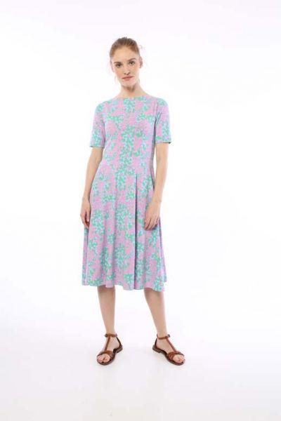 ORGANIC - Charlotte Dress Warm Viola BERRYGOOD