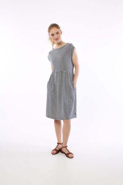 ORGANIC - Domenica Dress Cold Slate/Chalk