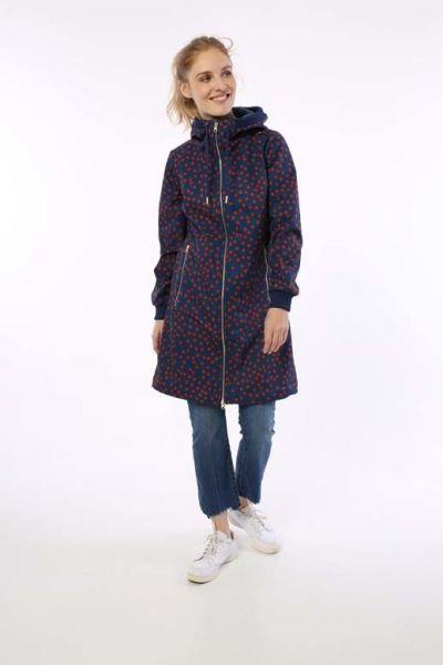 Jane Softshell Cold Slate/Sienna FUNDOTS