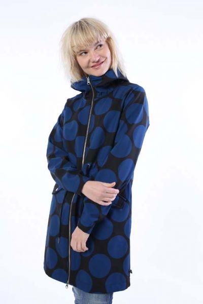 Marianne Softshell Black/Cold Slate MEGADOT