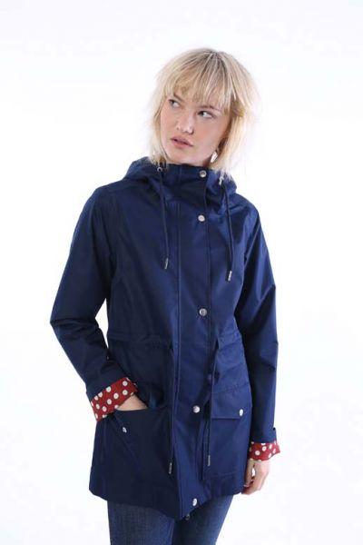 Lotta Rain Coat Navy