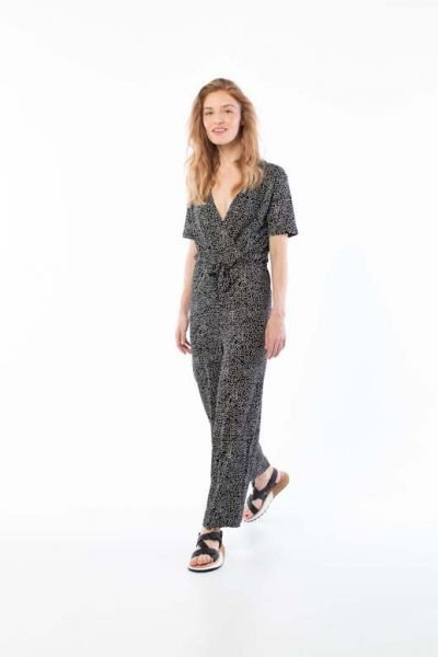 Topsen Suit Black/Chalk FUNNY DOTS