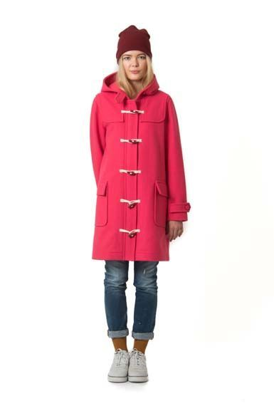 Scones duffle coat Tropical Pink