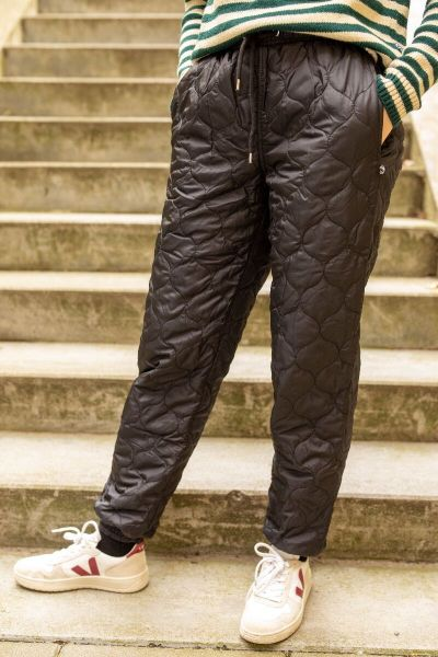 ESS - Melby Midlayer Thermo Pants Black