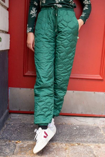 ESS - Melby Midlayer Thermo Pants Dark Khaki