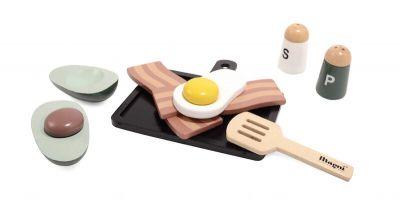 Magni Morgenmad i træ Æg og bacon