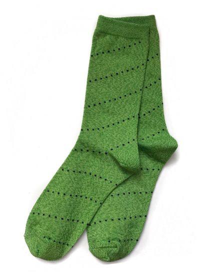 Pico CPH Dot Stripe Strømpe Green