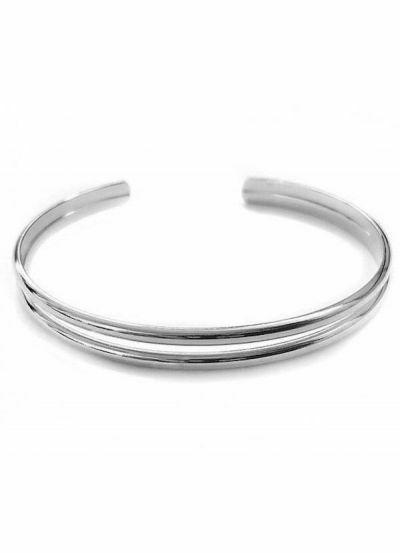 Pico CPH Double Bracelet Silver