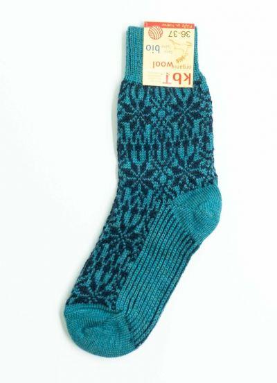 Nuno Socks Turquoise/Marine