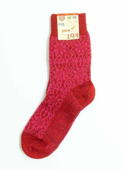 Nuno Socks Red/Rasberry