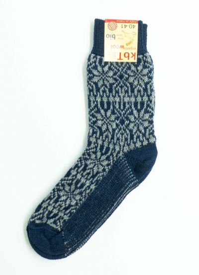 Nuno Socks Navy/Grey