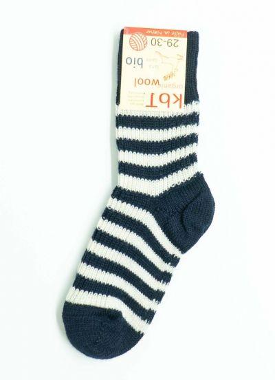 Nuno Socks Stripes Marine/White