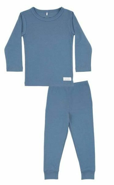 SNORK Basic LS Pyjamas Dusty Blue
