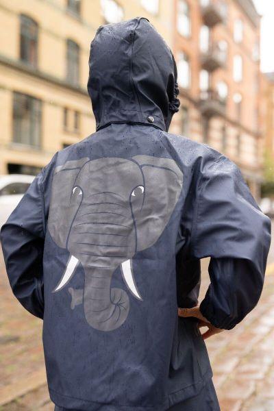 Ranger Rain Jacket Navy ELEFANT